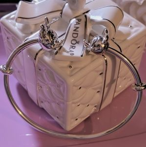 Pandora Disney Mickey & Minnie Bangle Bracelet